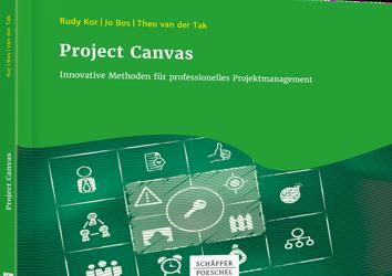 Duitse versie van boek Project Canvas