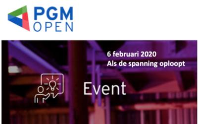 PGM Open Event 2020: 'Als de spanning oploopt'