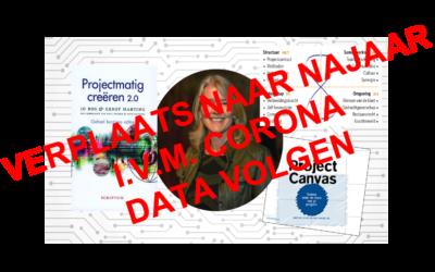Driedaagse training Projectmatig Creëren; najaar 2020