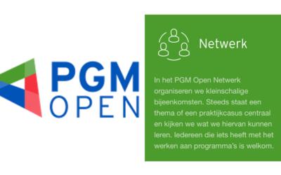 Bijeenkomsten PGM Open netwerk